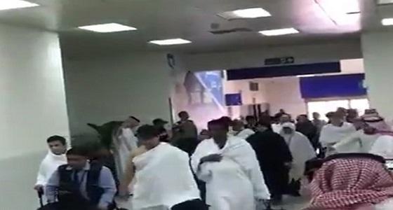 بالفيديو.. لحظة وصولذوي ضحايا ومصابي جريمة نيوزيلندا إلى جدة