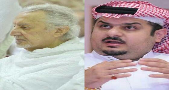 """الأمير خالد الفيصل يهاتف """" بن مساعد """" .. والأخير: مكالمة لن أنساها"""