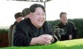 """زعيم كوريا الشمالية يشرف على تجربة منصة إطلاق صواريخ """" ضخمة """""""