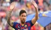 """بعد غيابه بسبب الإصابة.. """" ميسي """" يعود لقيادة برشلونة"""