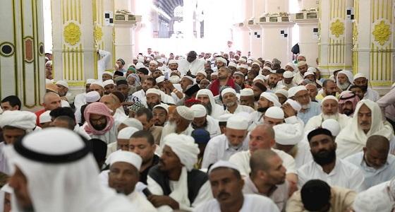 بالفيديو والصور.. خطبة الجمعة من المسجد النبوي