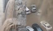 بالفيديو.. شلالات في مكة المكرمة نتيجة الأمطار الغزيرة