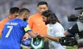 سلمان الفرج أفضل لاعب في ليلة تأهل الهلال لربع النهائي
