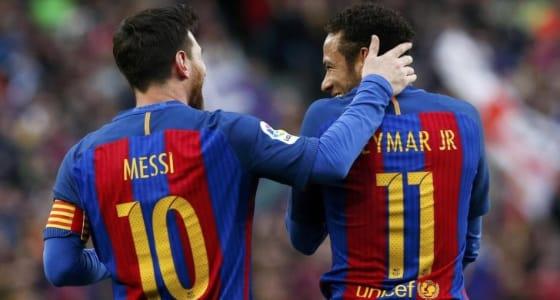 """ميسي يتصل بـ """" نيمار """" لاستقطابه لبرشلونة"""