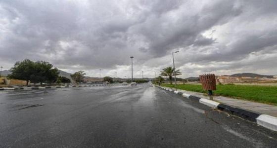 الأرصاد تنبه بهطول أمطار رعدية على الطائف