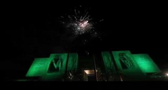 بالصور.. الدول العربية تشارك المملكة باحتفالات اليوم الوطني الـ89