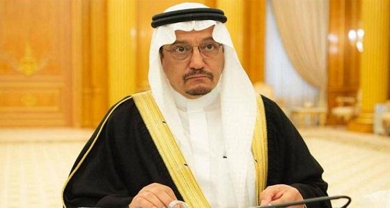 وزير التعليم يوجه بسرعة افتتاح مدينة طيبة بالمدينة المنورة
