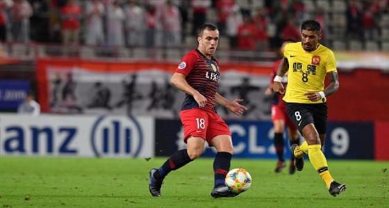 جوانجزو الصيني يتأهل لنصف نهائي دوري أبطال آسيا