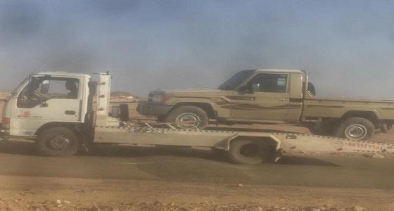 مواطن يساهم في القبض على سارق سيارة بتثليث