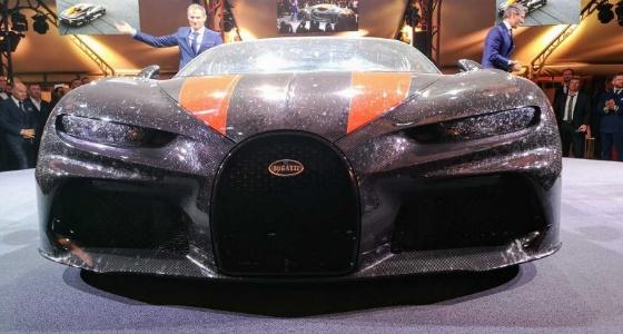 رسميا.. انطلاق سيارة بوجاتي شيرون سوبر سبورت الأقوى بالعالم