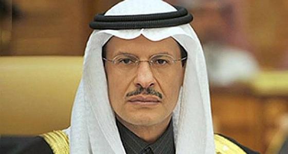 توضيح من وزير الطاقة بشأن توقف عمليات الإنتاج بعد الهجوم على معملي بقيق وخريص
