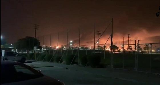 """الإمارات تستنكر الهجوم الإرهابي الحوثي على شركة أرامكو بـ """" بقيق """""""