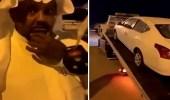 فيديو رائع لمواطنين يهدون صديقهم سيارة جديدة بعد تعرضه لحادث