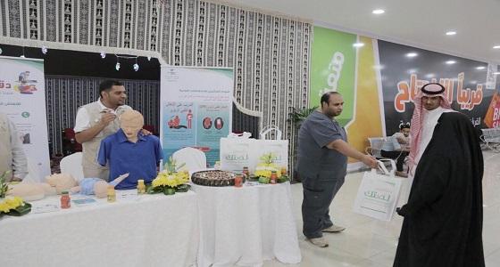 صحة القريات تنظم اليوم العالمي للإسعافات الأولية