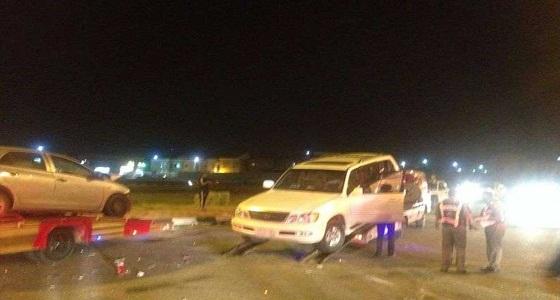وفاة وإصابة 9 أشخاص في حادث مروري بالدمام
