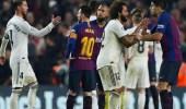 موعد الكلاسيكو بين برشلونة وريال مدريد