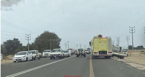 وفاة أحد منسوبي شؤون الحرمين في حادث تصادم