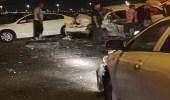 إصابة 5 نساء في حادث تصادم جماعي بالمنطقة الشرقية