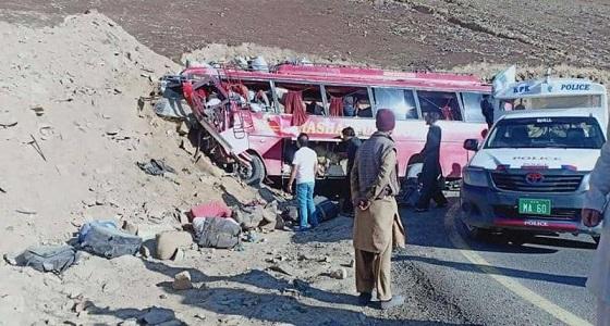 عطل « فرامل » يتسبب في قتل 22 شخصًا