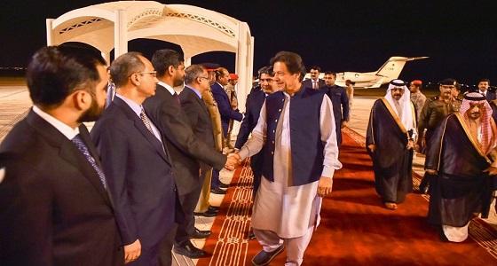 رئيس وزراء جمهورية باكستان الإسلامية يغادر الرياض