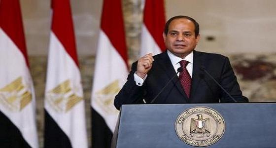 الرئيس المصري يؤكد أن بلاده تتعرض لأمواج عاتية أغلبها من الخارج