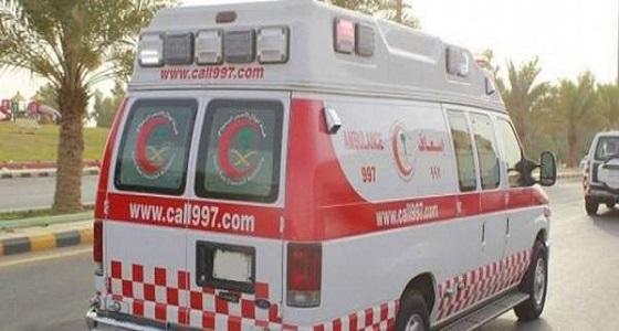 حادث مروع كاد أن يتسبب في بتر ساق «مُصاب» بالمدينة المنورة