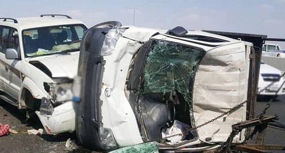 إصابات في حادث مروري مروع بجدة