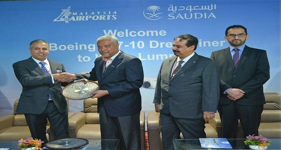 الخطوط السعودية تدشن خدمة « بيسترو »على رحلات «كوالالمبور» بطائرة الأحلام الحديثة