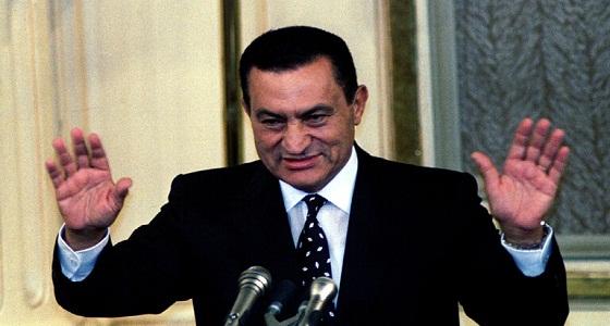 شاهد.. أحدث ظهور لمحمد حسني مبارك بمناسبة ذكرى حرب أكتوبر