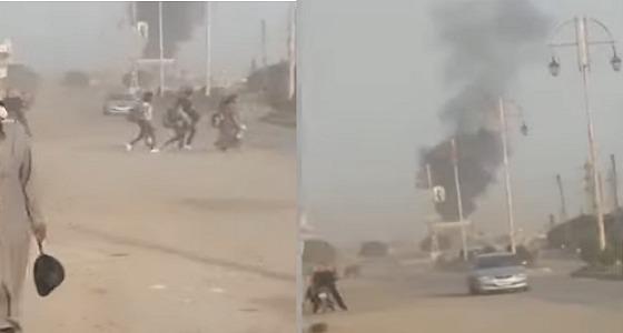 بالفيديو.. هلع وخوف بين سكان سوريا إثر القصف التركي