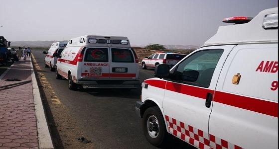 اصطدام 3 مركبات على طريق « بريمان » في جدة