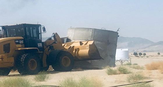 استعادة 800 ألف م2 تعديات بمنطقة الشميسي في مكة المكرمة