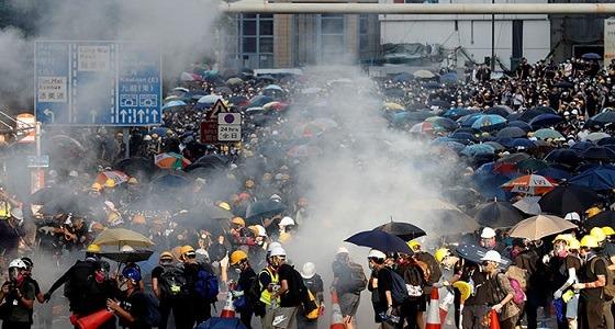 قنصلية المملكة بالصين تصدر بيان هام للمواطنين مع توقف المترو واشتعال الإحتجاجات
