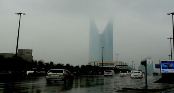 تنبيه..استمرار هطول أمطار رعدية على 5 مناطق