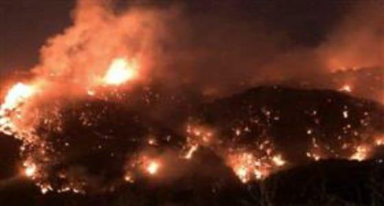 بالفيديو.. إخماد حرائق القرى اللبنانية بعد استمرارها 6 ساعات