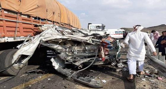 وفاة وإصابة 5 في حادثين منفصلين ببيشة