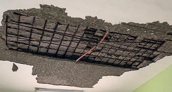 حقيقة حدوث انهيار في سقف إحدى مدارس البنات بتبوك