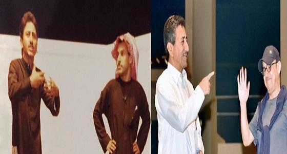 عبد الإله السناني يلخص 30 عامًا مع القصبي في صورة