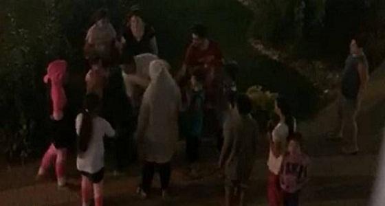 اعتداء بالضرب المبرح على طفل عربي بتركيا (فيديو)