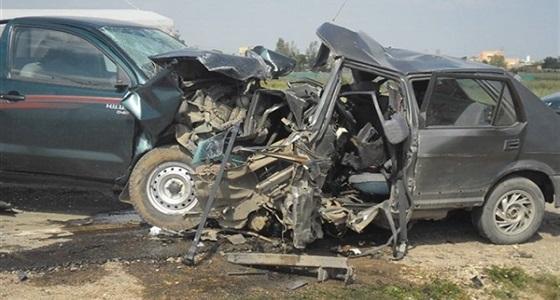 حادث اصطدام مركبتين بجدة ينتج عنه عدد من الإصابات