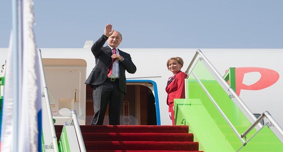 بالصور.. الرئيس الروسي يغادر الرياض