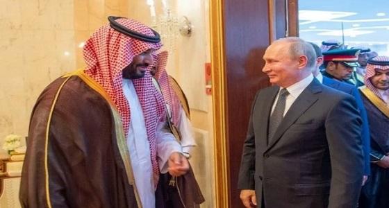 ولي العهد: هناك تعاون بين المملكة وروسيا في مجال الطاقة