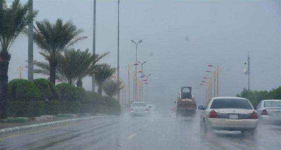 حالة الطقس المتوقعة في المملكة غدا الأربعاء