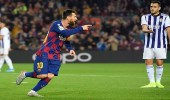 برشلونة يستعيد صدارة ترتيب الدوري الإسباني بعد اكتساح بلد الوليد بخماسية