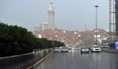 تنبيه.. استمرار هطول أمطار على مكة المكرمة