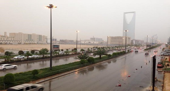 غدًأ.. أمطار رعدية على 6 مناطق وغيوم على 3 أخرى
