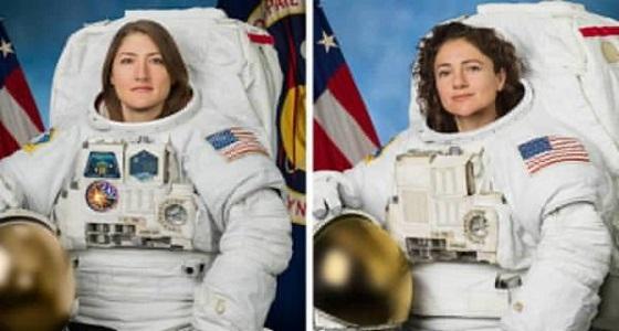للمرة الأولى.. ناسا تُرسل امرأتان معًا للفضاء
