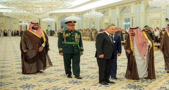 أطباق مأدبة خادم الحرمين للرئيس الروسي