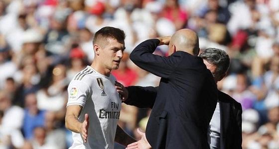 ريال مدريد يعلن عن التشخيص الرسمي لإصابة توني كروس