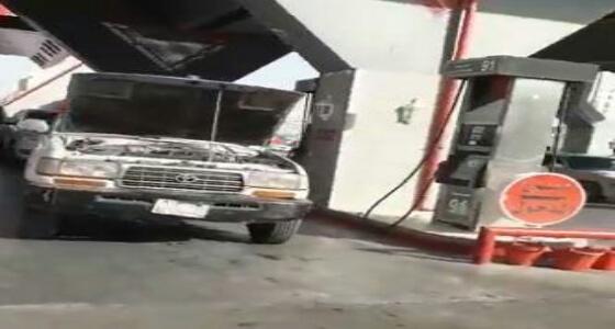 تعطل عدد من السيارات بسبب تزويدها بـ بنزين مخلوط بالماء بالمدينة